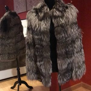 Jackets & Blazers - Real Fox Fur vest